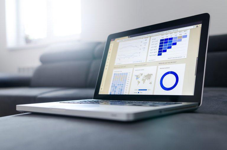 Office Business Notebook Statistics Technology